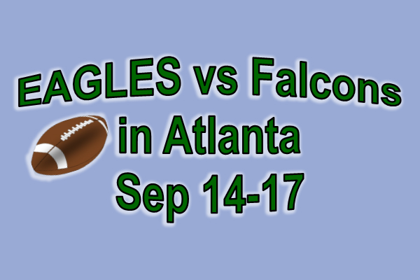 Eagles vs Falcons in Atlanta